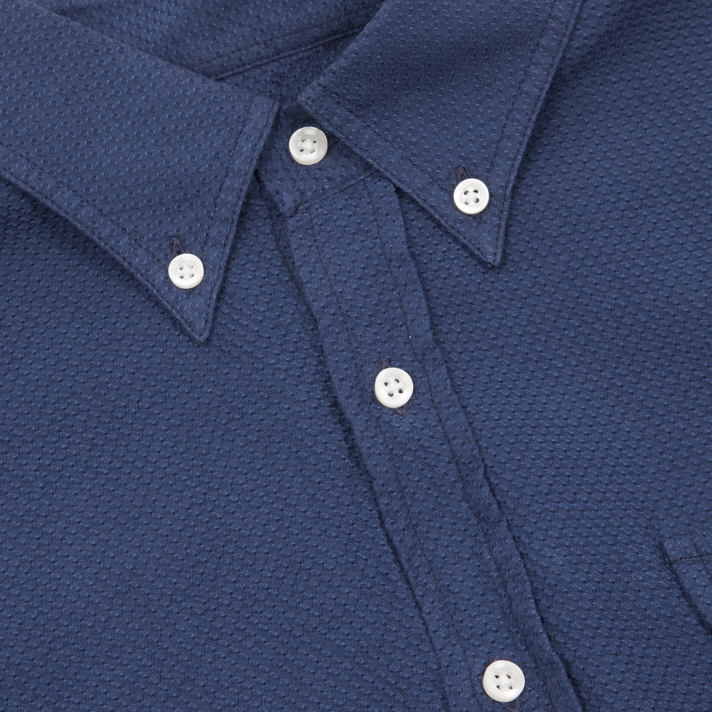 Polo shirt with pen pocket on sleeve kamos t shirt for Van heusen pilot shirts slim fit