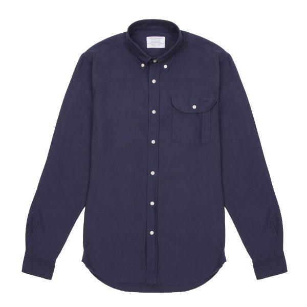 Indigo Oxford Cotton Shirt