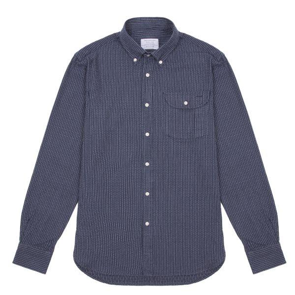 cotton diamond weave shirt