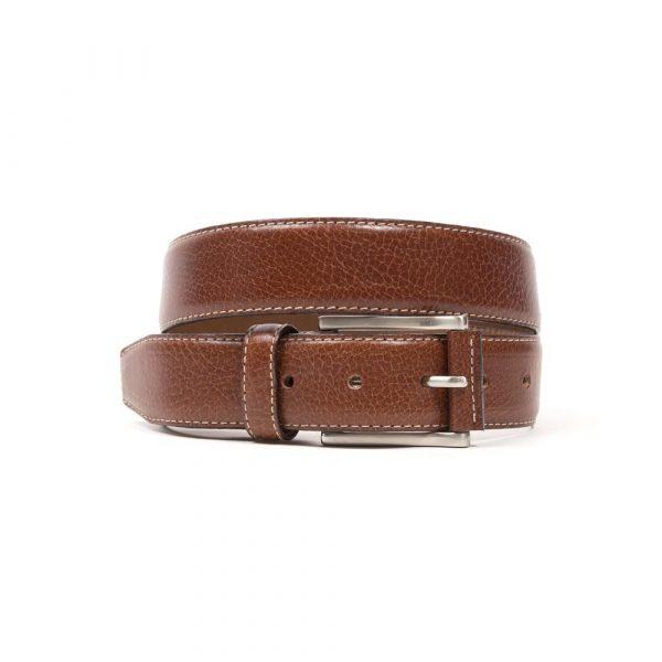 Brown Vaqueta Leather Belt