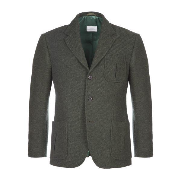 The Simplon Green Tweed Jacket