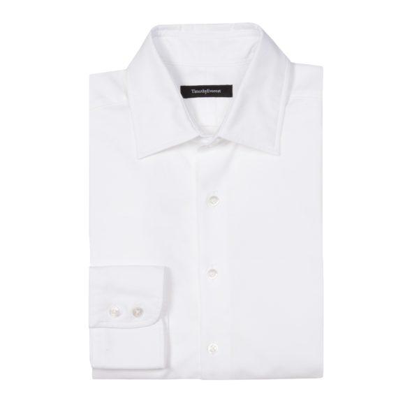 The Everest White Oxford Cotton Shirt,