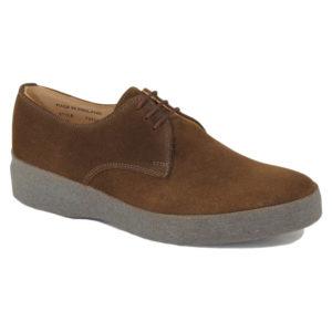 Sanders Lo-Top Snuff Suede Shoes