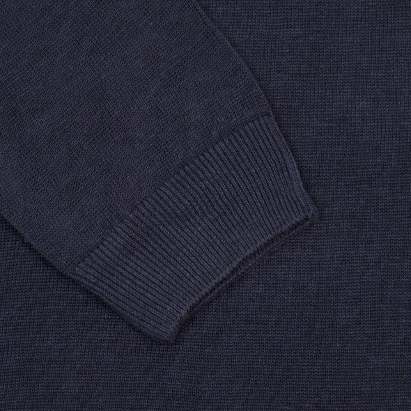 The Navy Blue Linen Jumper