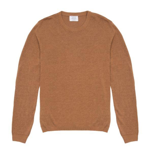 The Cashew Brown Linen Jumper
