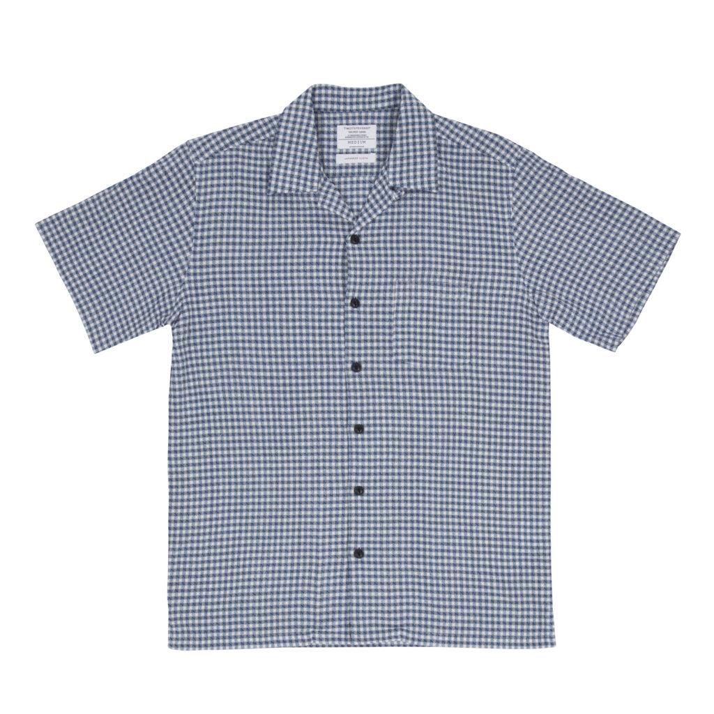 Blue Weave Cuban Shirt