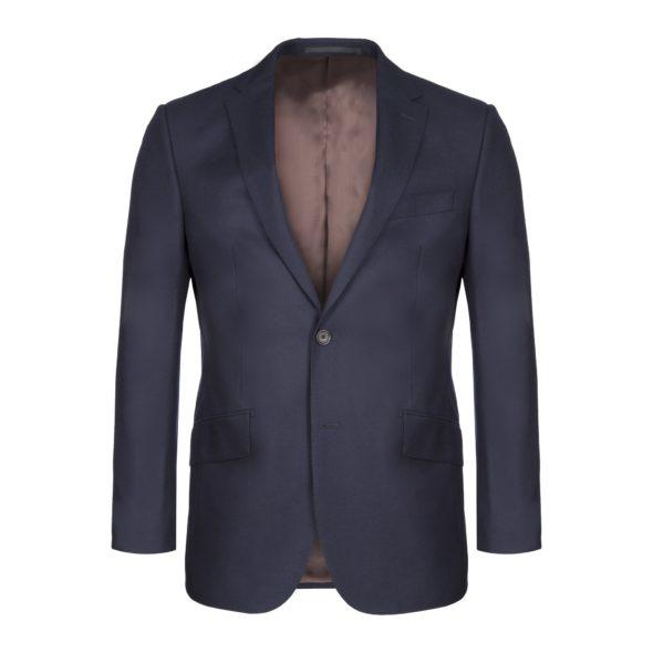 2 Piece Midnight Navy Wool Serge Suit