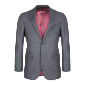 2 Piece Grey Wool Serge Suit