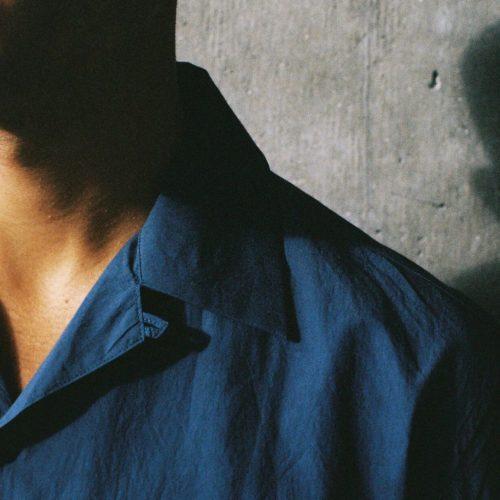 Mid Blue Short Sleeve Poplin Cuban Shirt