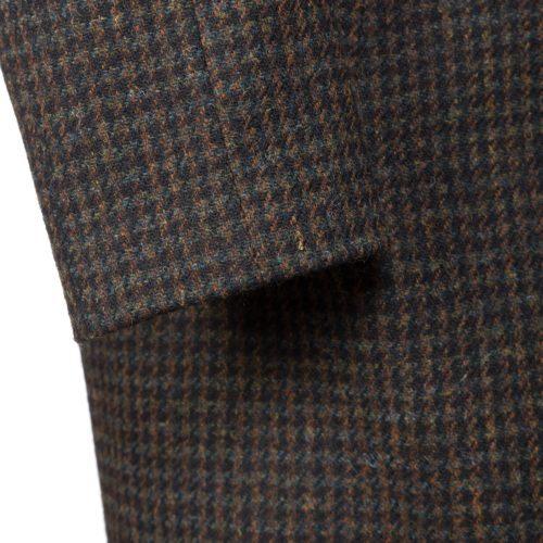 Rust Harris Tweed Raglan Mac