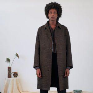 Timothy Everest Tweed Raglan Coat