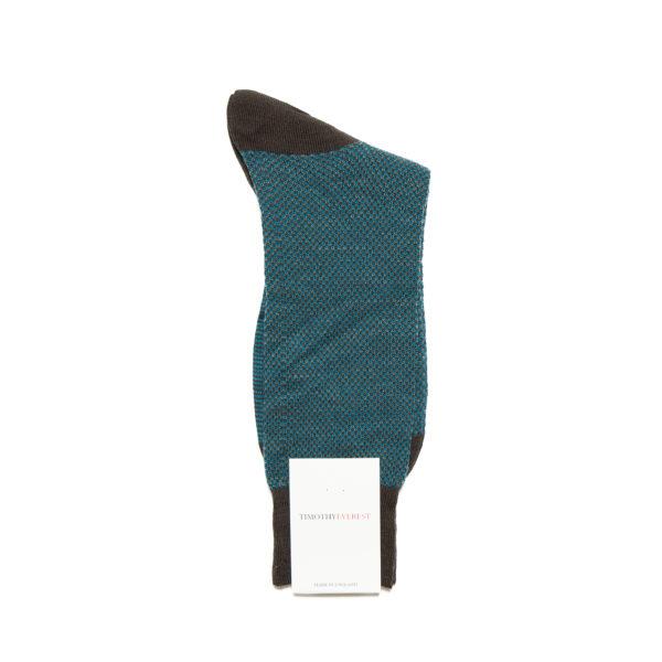 Chocolate Brown Patterned Socks