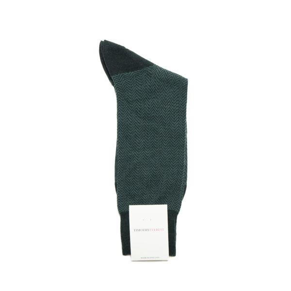 Racing Green Cotton Socks