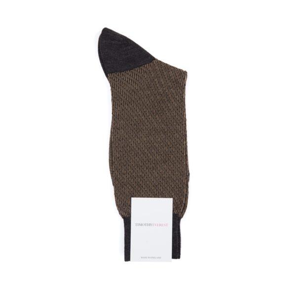 Charcoal Patterned Socks
