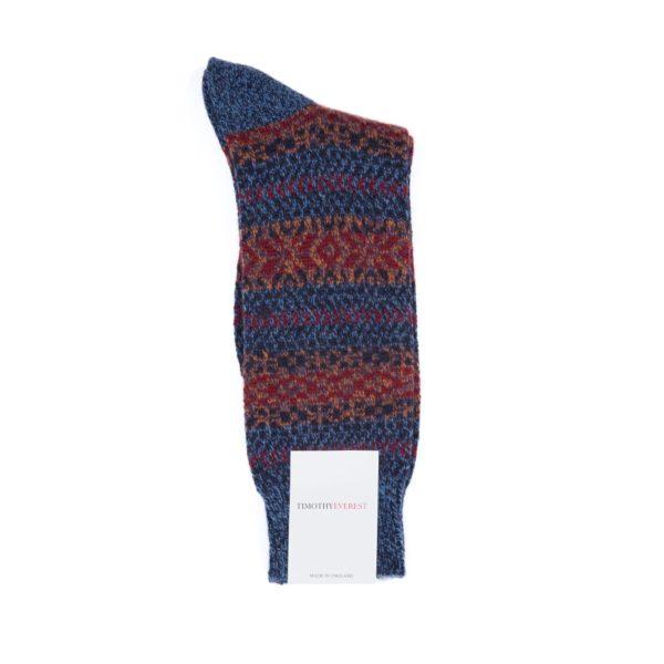 Denim Coloured Socks