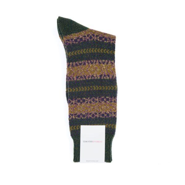 Forest Coloured Socks