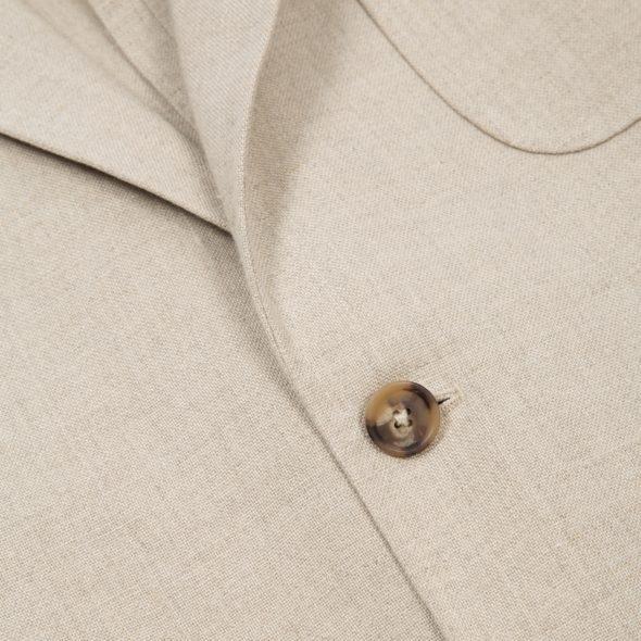 Sandstone Washed Programme Linen Jacket