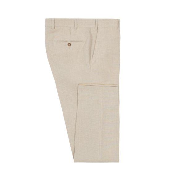 Sandstone Washed Programme Linen Trouser