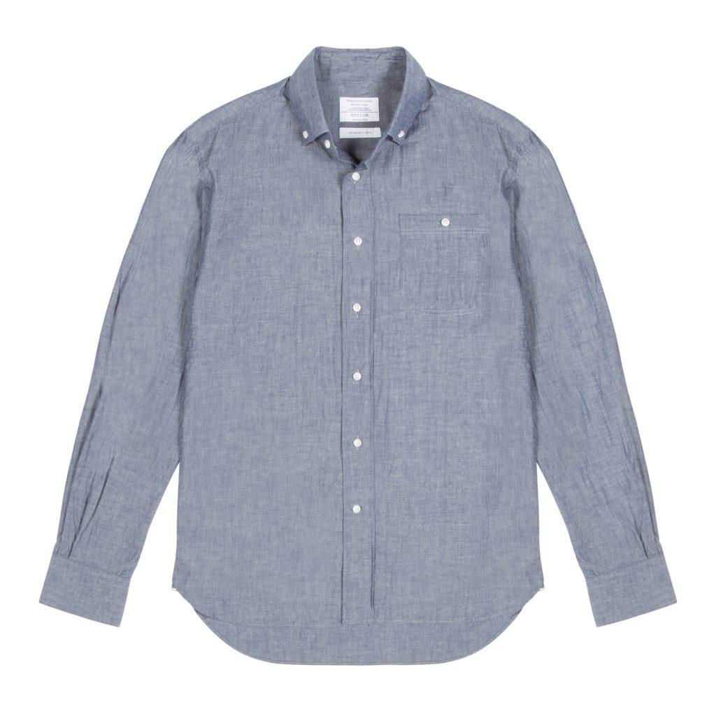 Chambray Cotton Redchurch Shirt