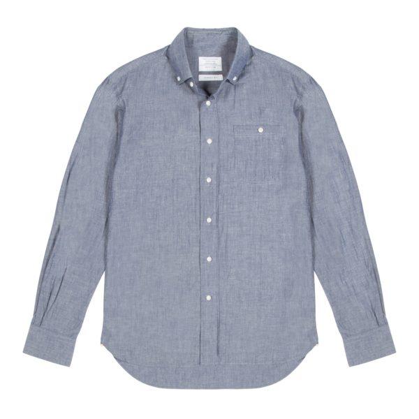 Chambray Cotton Redchurch Shirt 1
