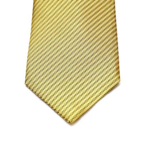 Gold Pattern Nishijin Silk Tie