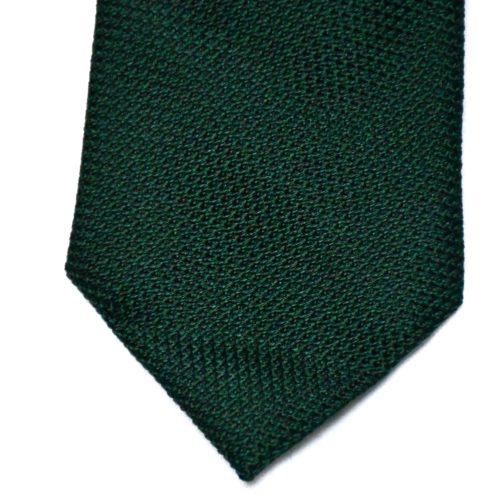 Green Grenadine Silk Tie