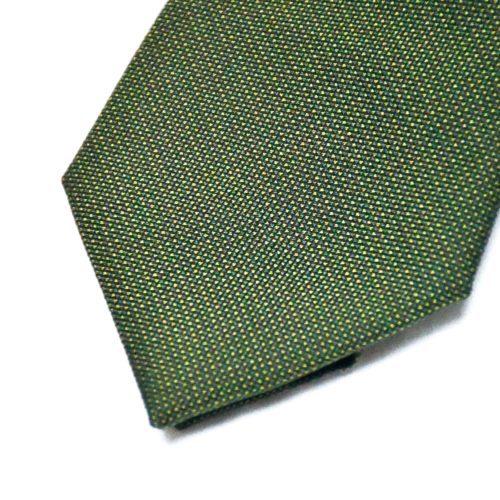 Green Pique Silk Tie