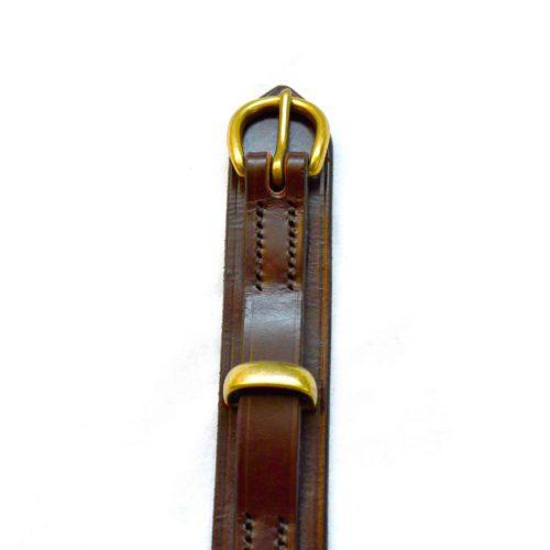 Nut Brown Stockwood Leather Belt
