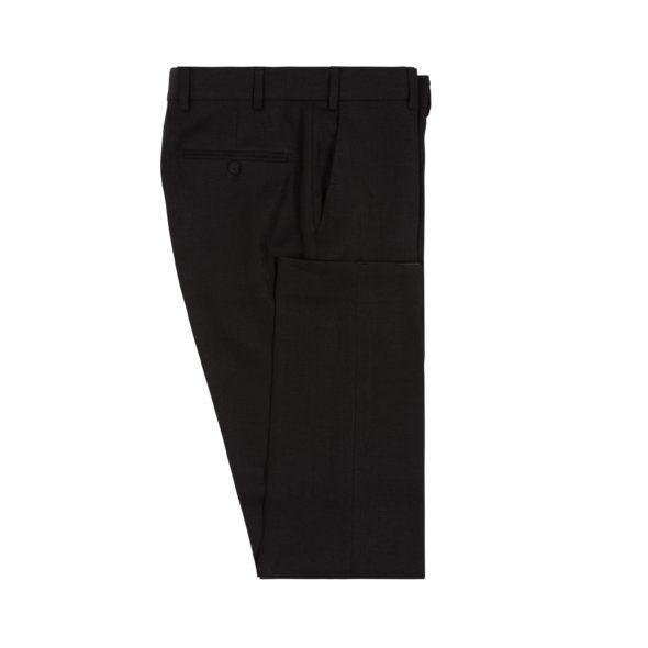 Black Washed Programme Linen Trouser