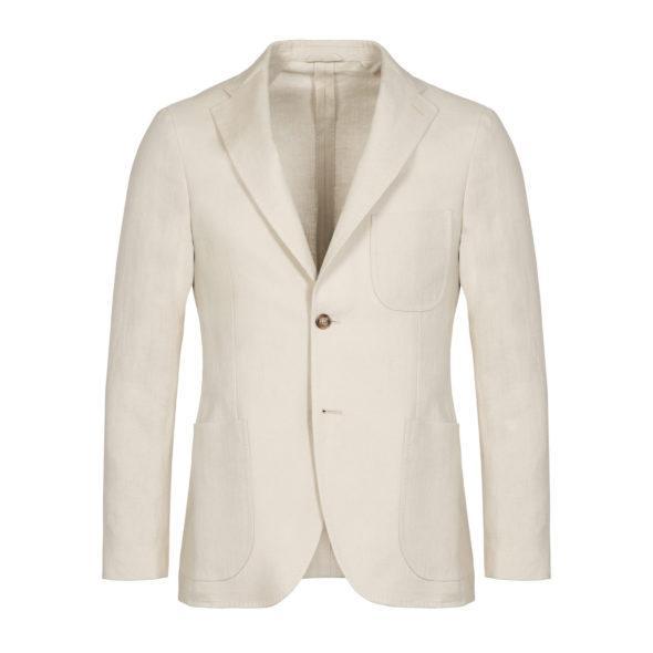 Sand Washed Programme Linen Jacket
