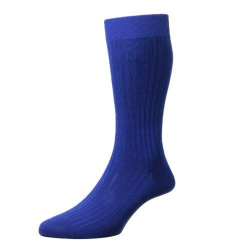 Ultramarine Cotton Socks