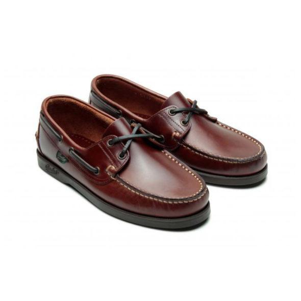 Paraboot Barth - Marron Boat Shoe