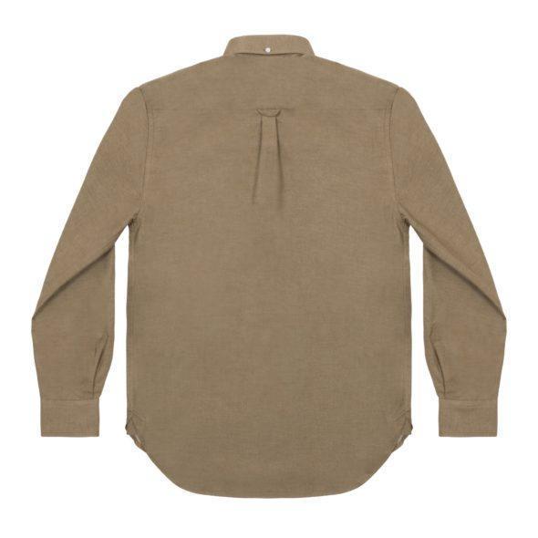 Khaki Brushed Cotton Redchurch Shirt