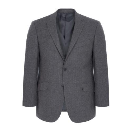 Grey Pinstripe House Block Suit Jacket