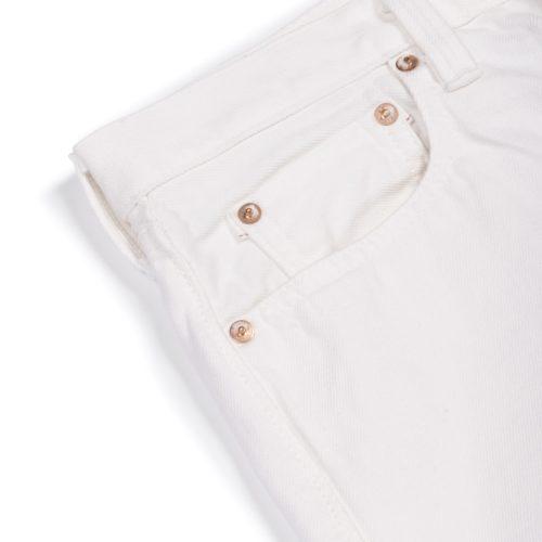 Fullcount x Timothy Everest White Jeans